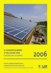 Schweizer Solarpreis / Prix Solaire Suisse 2006