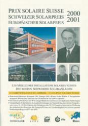 Schweizer Solarpreis / Prix Solaire Suisse 2000