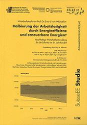 Wirtschaftsstudie Prof. Dr. E. U. von Weizsäcker