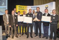 Gewinner Prix Solaire Mondiale, Prof. Dr. Bertrand Piccard und André Borschberg von Solar Impulse