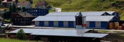 Die Solardächer der Sägewerke Christen AG