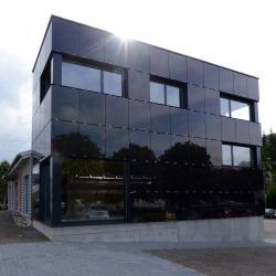 Der neu angebaute Gebäudebereicht der Firma Bracher + Schaub in Ormalingen.