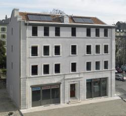 La rénovation de cette immeuble démontre la capacité de la Ville de Genève à atteindre les objectifs de sa stratégie 2050. L'indice de dépense énergétique du bâtiment a été réduit par 3 au niveau des pertes de l'enveloppe et par 10 pour la consommation d'énergie primaire. Une année après la rénovation, la consommation totale du bâtiment s'élevait à 25'500 kWh/a.