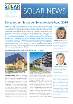 Solar News August 2019