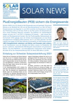 Solar News Août 2021