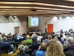 Informationsabend der Regione Generoso zur PV-Einkaufsgruppe.