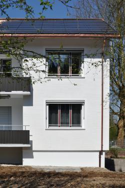 Hausteil des Baus der Wogeno Aargau
