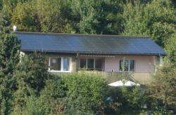 m Aussen- und Innenbereich wurden ökologisch hochwertige und einheimische Bautstoffe eingesetzt.