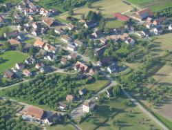 Gemeinde Hohentannen von oben