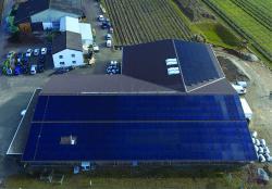 Seit Frühling 2018 poduziert der Spargelhof eigenen Solarstrom, welcher Spargeln und Gemüse unabhängig vom Stromnetz kühlt.