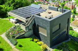 PlusEnergie-EFH Wollerau vor Sanierung
