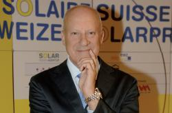 Lord Norman Foster, Foster + Partners, Riverside, Hester Road, London, at the Swiss Solar Prize 2010 in Zurich.